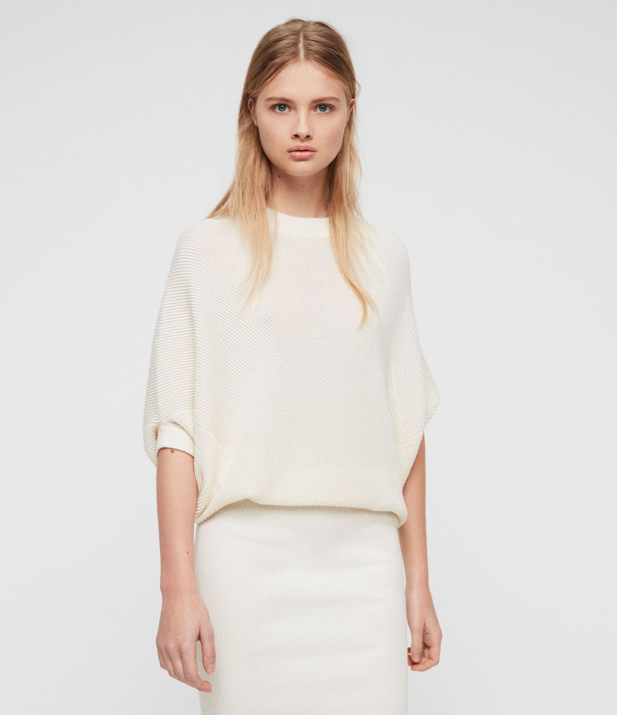 Womens Deon Dress (chalk_white) - Image 2