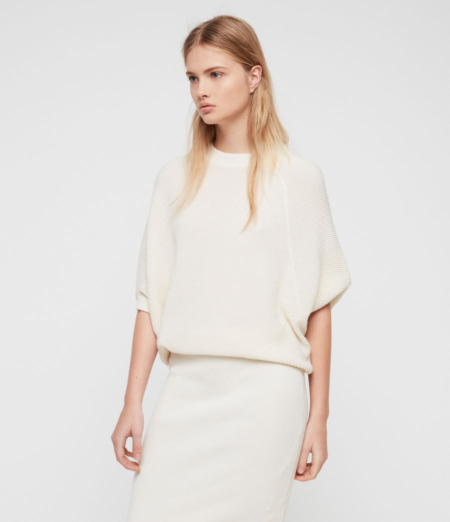 Womens Deon Dress (chalk_white) - Image 3