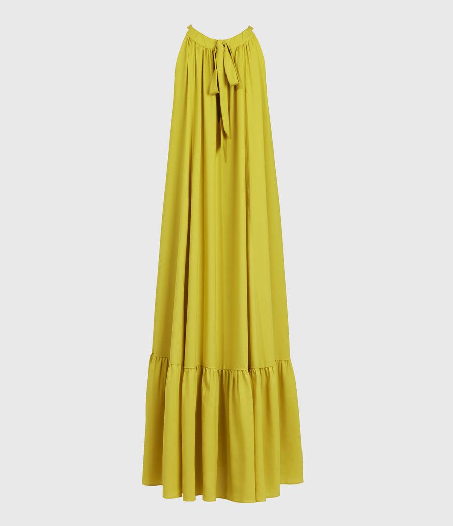 Womens Roma Dress (chartreuse_yellow) - Image 2