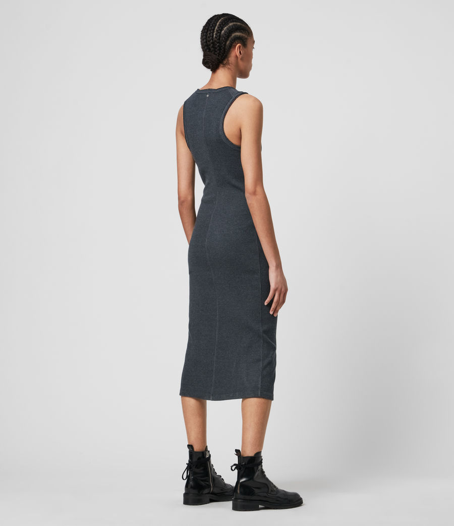 Donne Alicia Dress (charcoal_grey) - Image 5