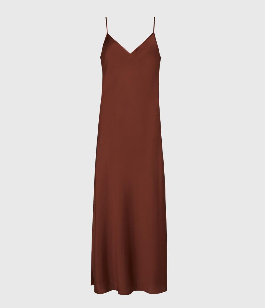 Women's Ondra 2-In-1 Dress (conker_brown) - Image 2