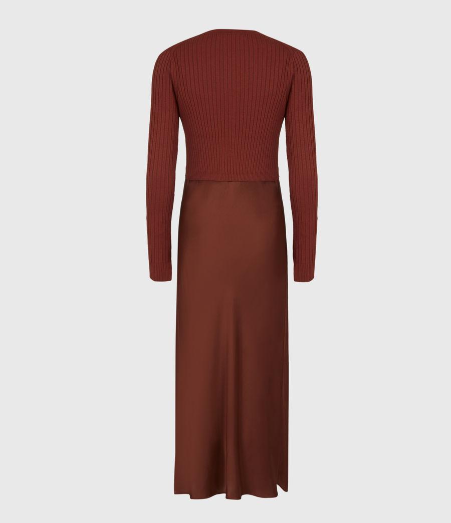 Women's Ondra 2-In-1 Dress (conker_brown) - Image 3