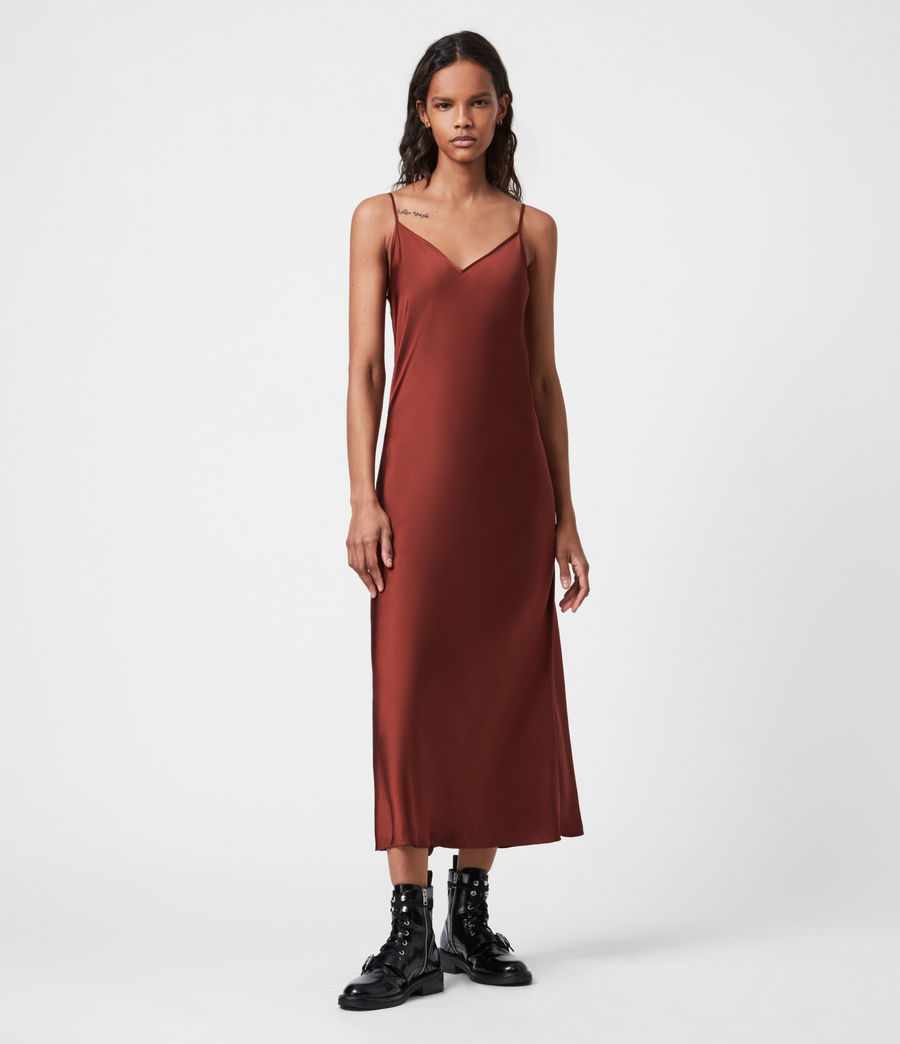 Women's Ondra 2-In-1 Dress (conker_brown) - Image 4