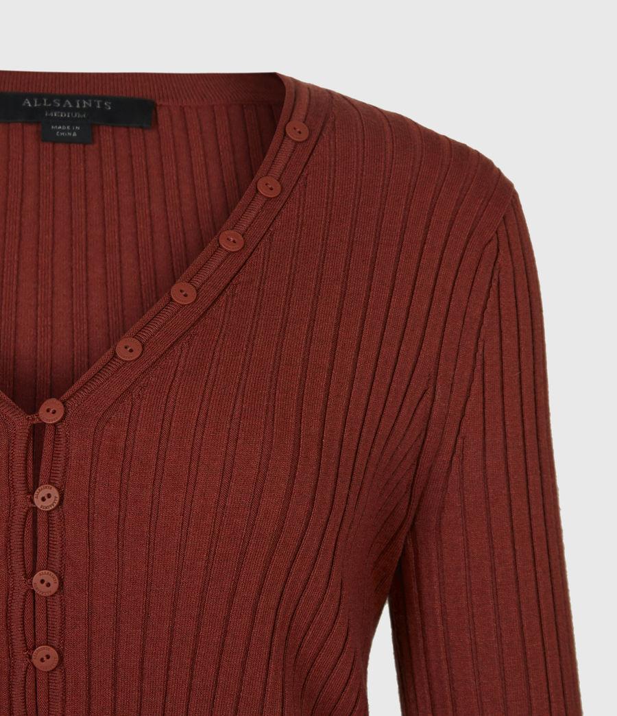 Women's Ondra 2-In-1 Dress (conker_brown) - Image 6