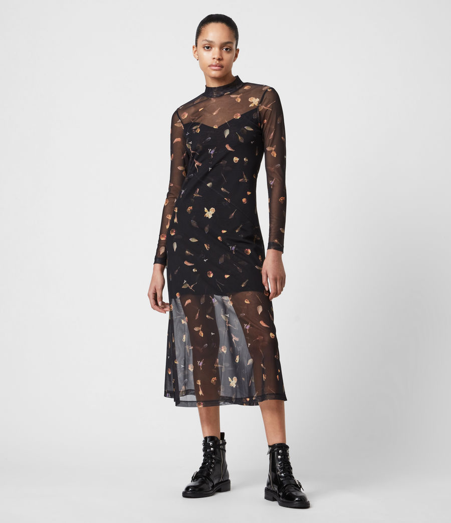 Femmes Robe Hanna Mutare (black) - Image 1