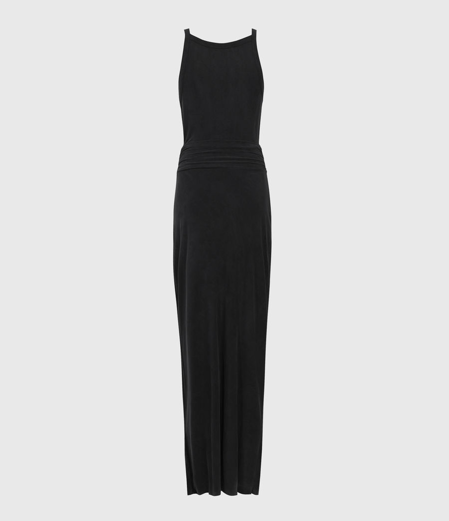 Womens Sami Dress (black) - Image 2