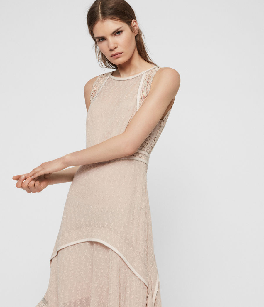 Womens Alicia Lili Dress (pale_pink) - Image 2