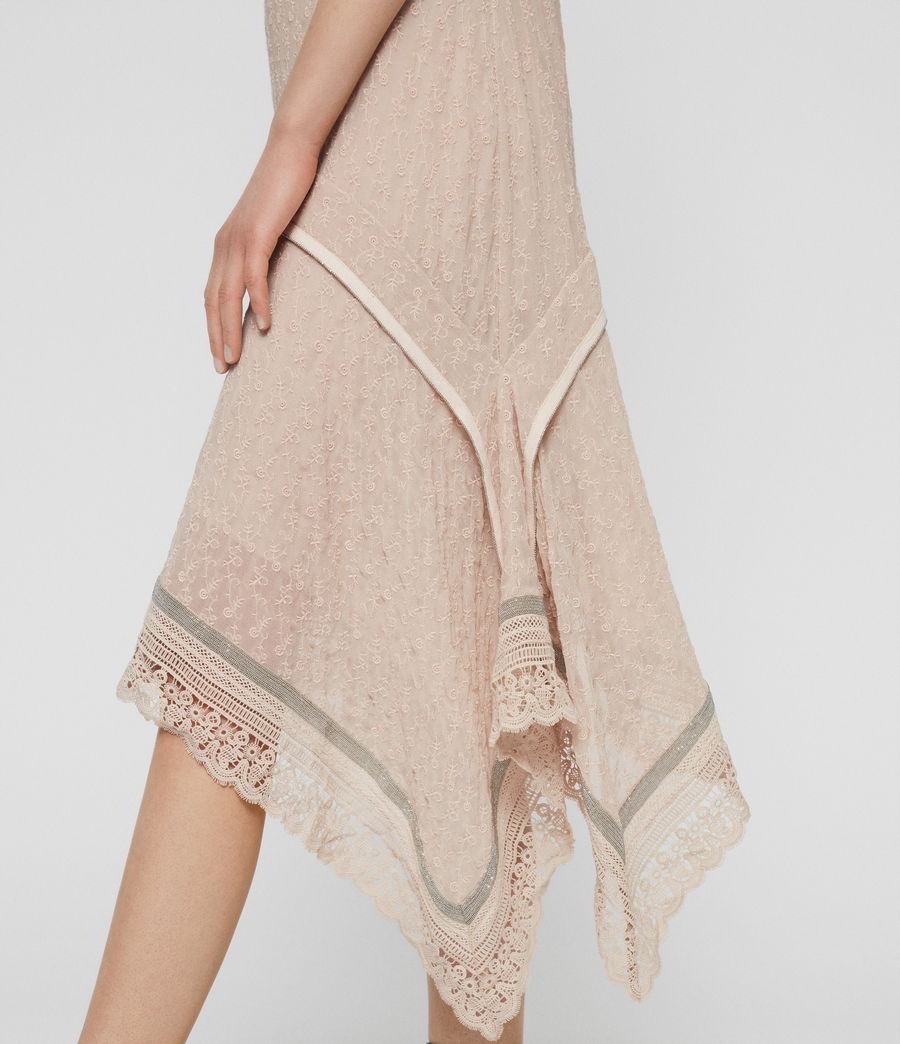 Women's Alicia Lili Dress (pale_pink) - Image 3