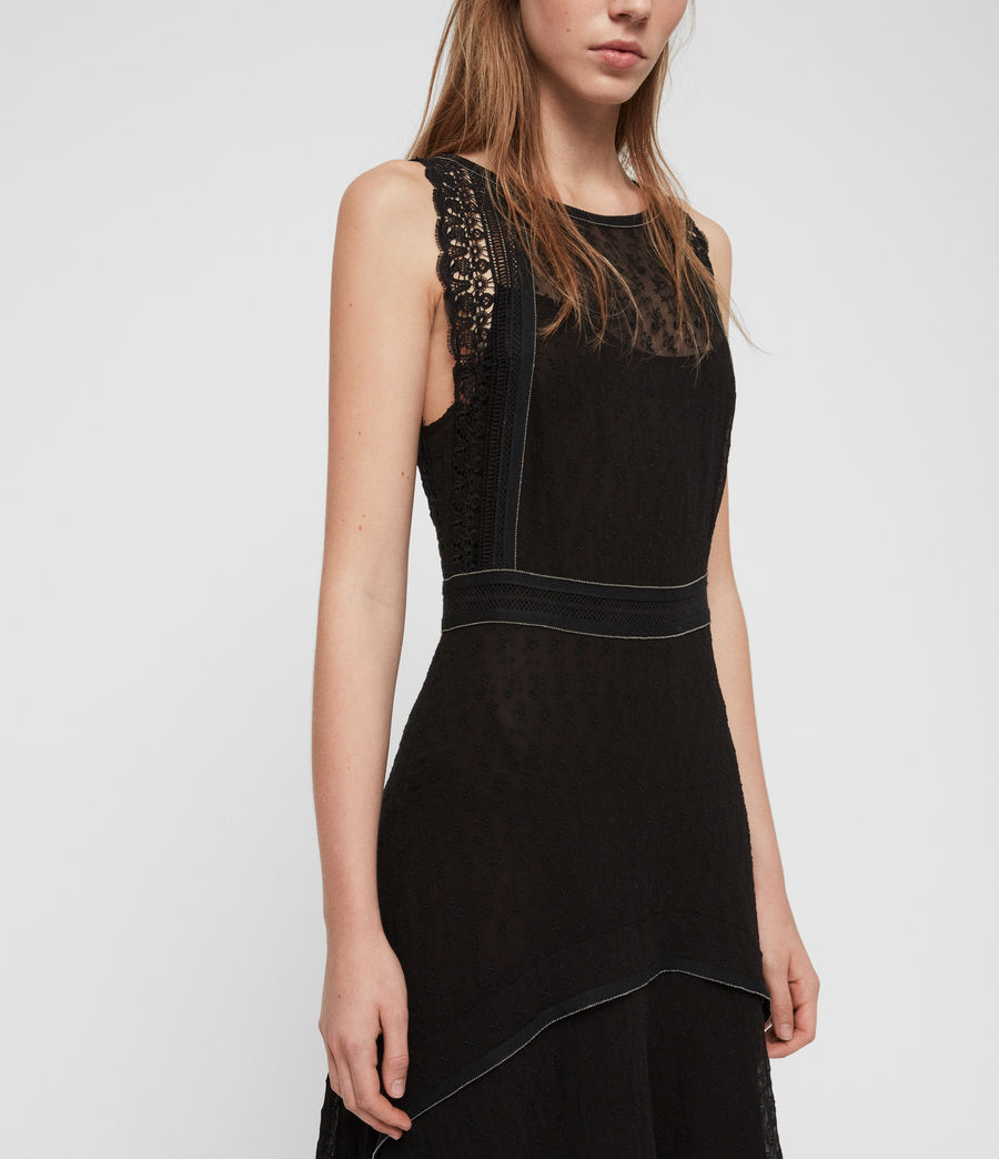 Womens Alicia Lili Dress (black) - Image 6