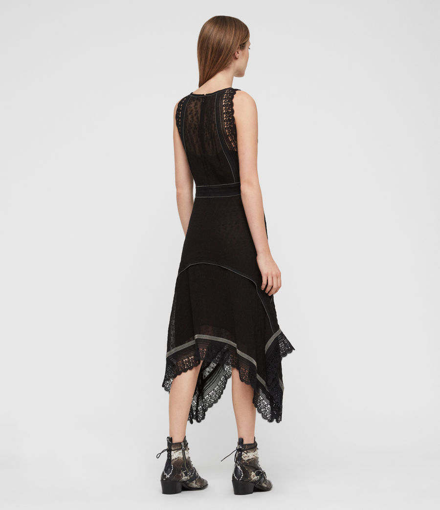Womens Alicia Lili Dress (black) - Image 7