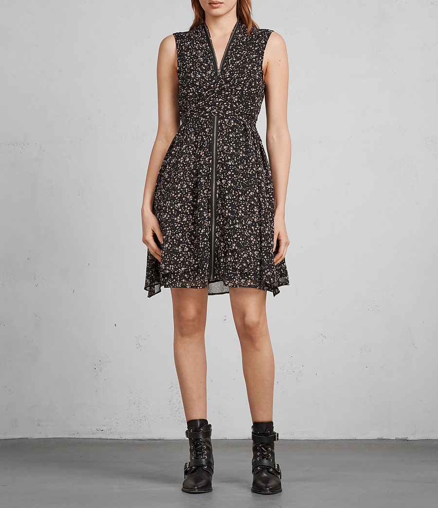 Women's Jayda Pepper Dress (black) - Image 3