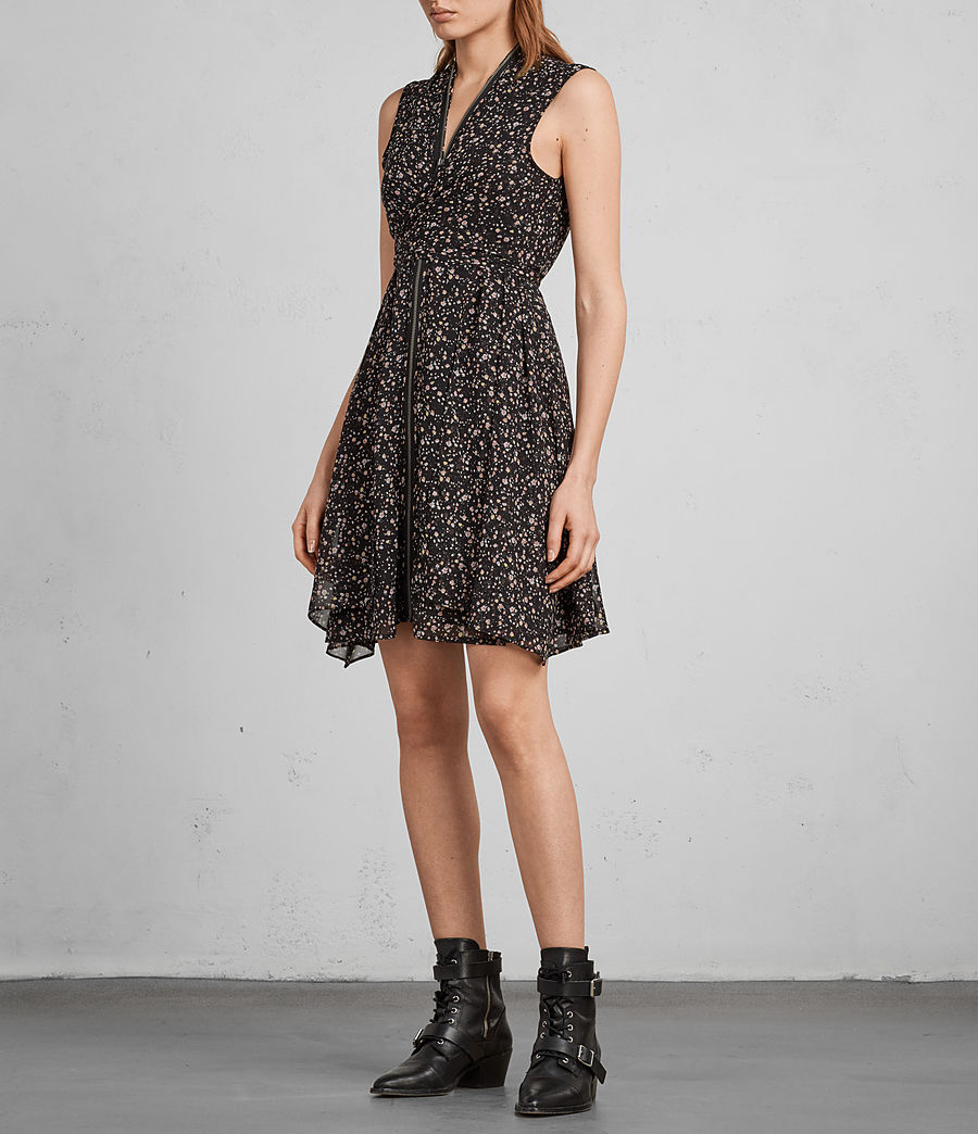 Women's Jayda Pepper Dress (black) - Image 5
