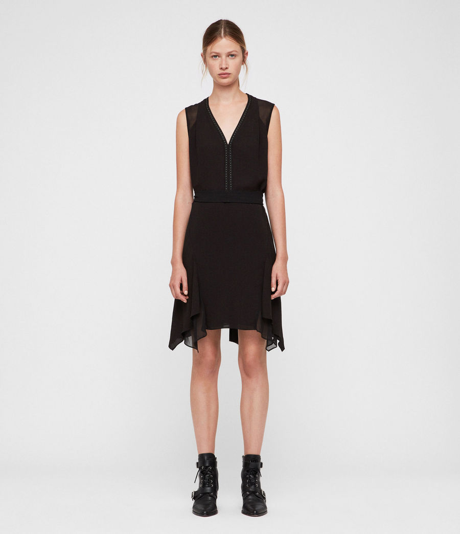 Womens Izara Dress (black) - Image 1