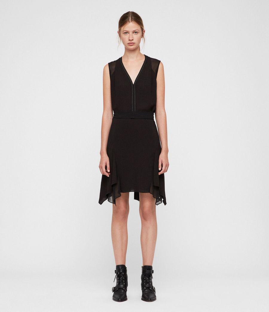 Femmes Robe Izara (black) - Image 1