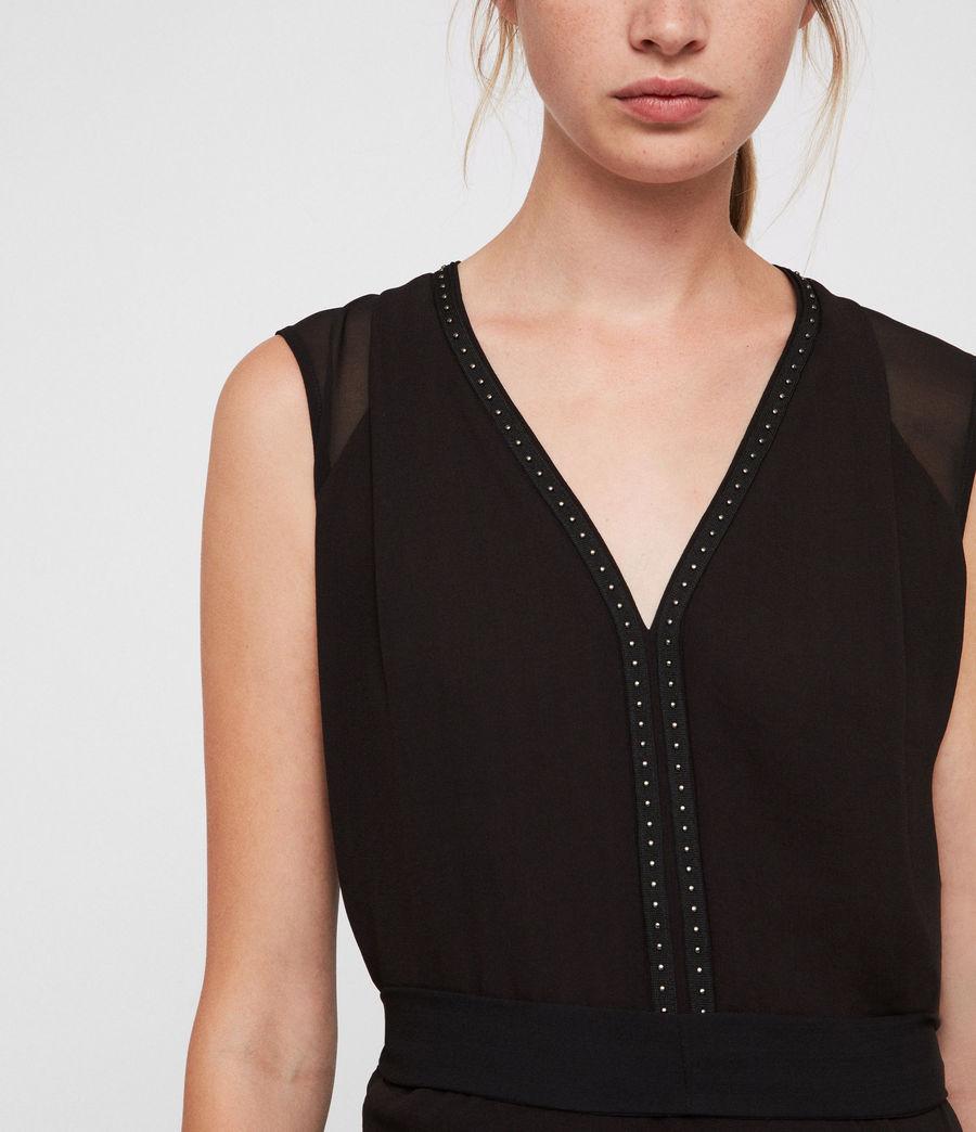 Femmes Robe Izara (black) - Image 2