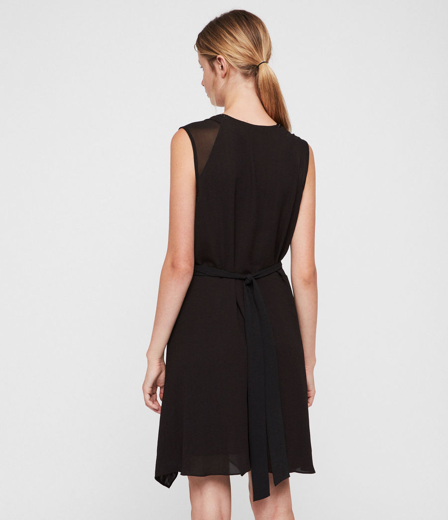 Womens Izara Dress (black) - Image 5