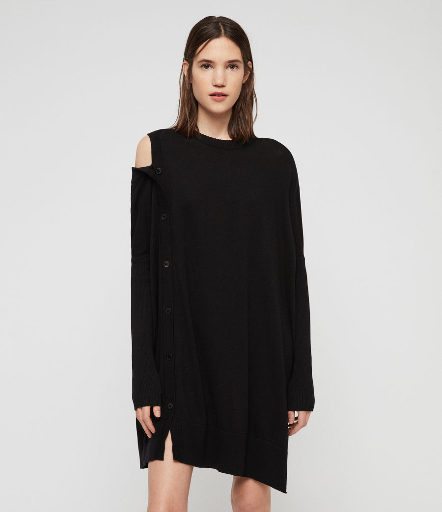 Womens Ria Dress (black) - Image 1