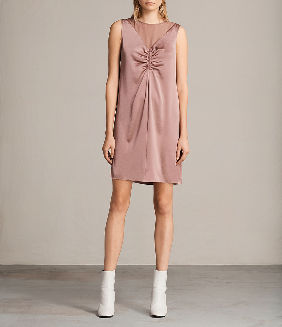 Womens Nuri Dress (mauve_pink) - Image 1
