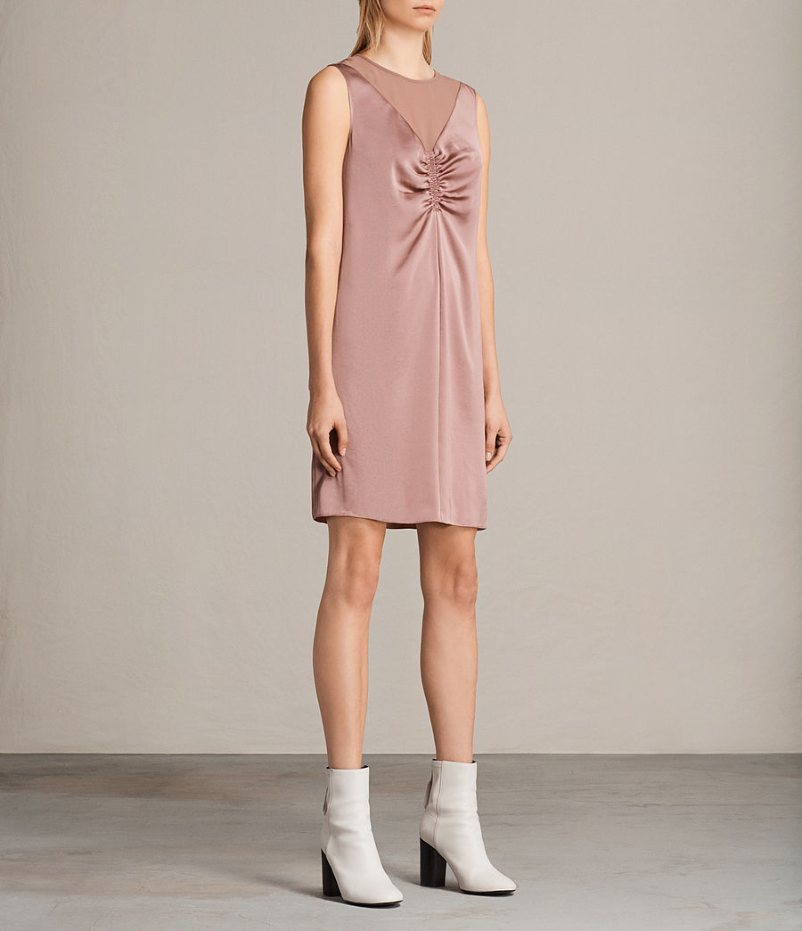 Womens Nuri Dress (mauve_pink) - Image 3