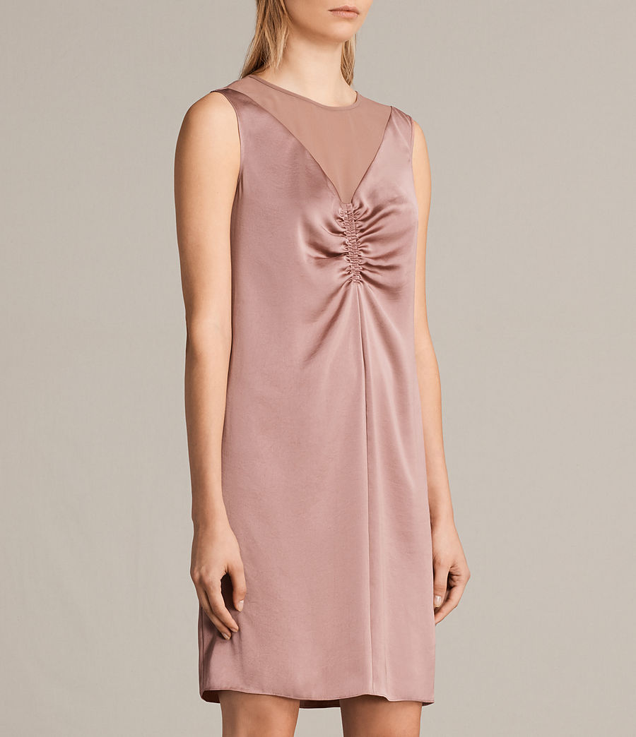 Womens Nuri Dress (mauve_pink) - Image 5