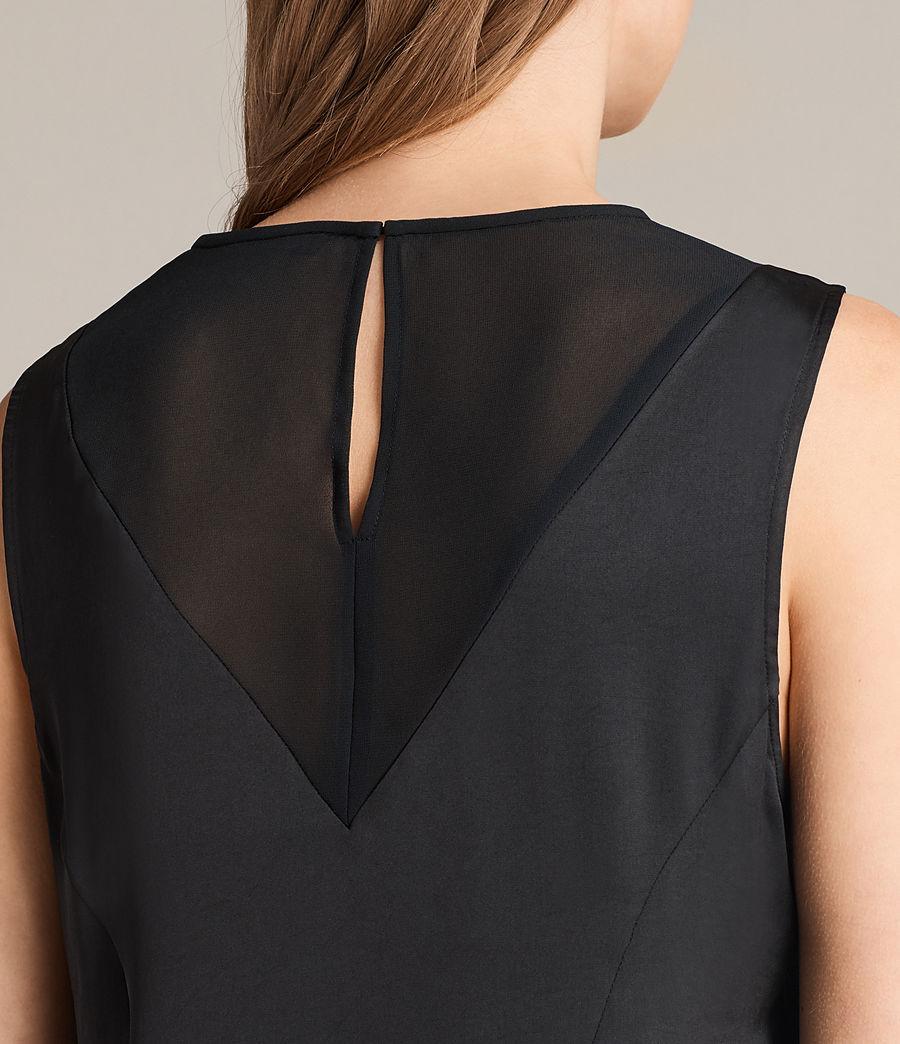 Damen Nuri Kleid (black) - Image 2