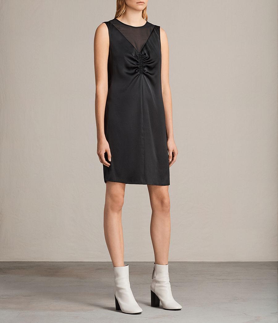 Damen Nuri Kleid (black) - Image 4