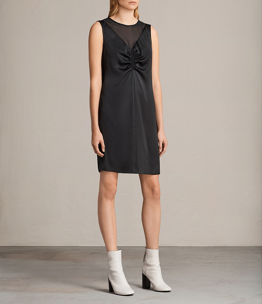 Women's Nuri Dress (black) - Image 4