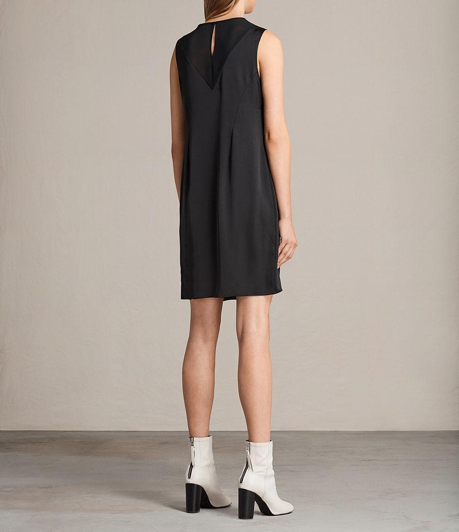 Damen Nuri Kleid (black) - Image 8
