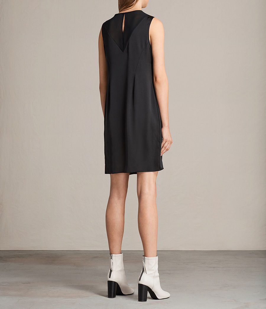 Women's Nuri Dress (black) - Image 8