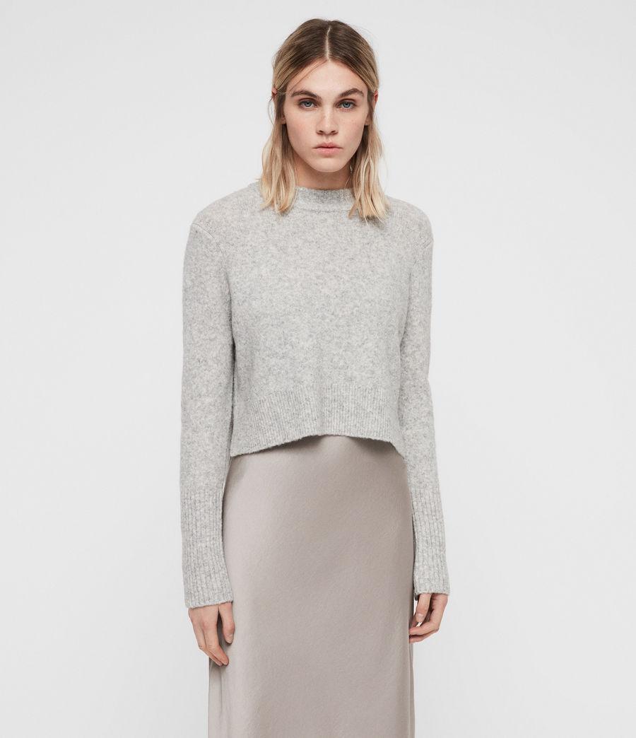 Mujer Vestido con Suéter Tierny (tin_greymarl_pearl) - Image 1
