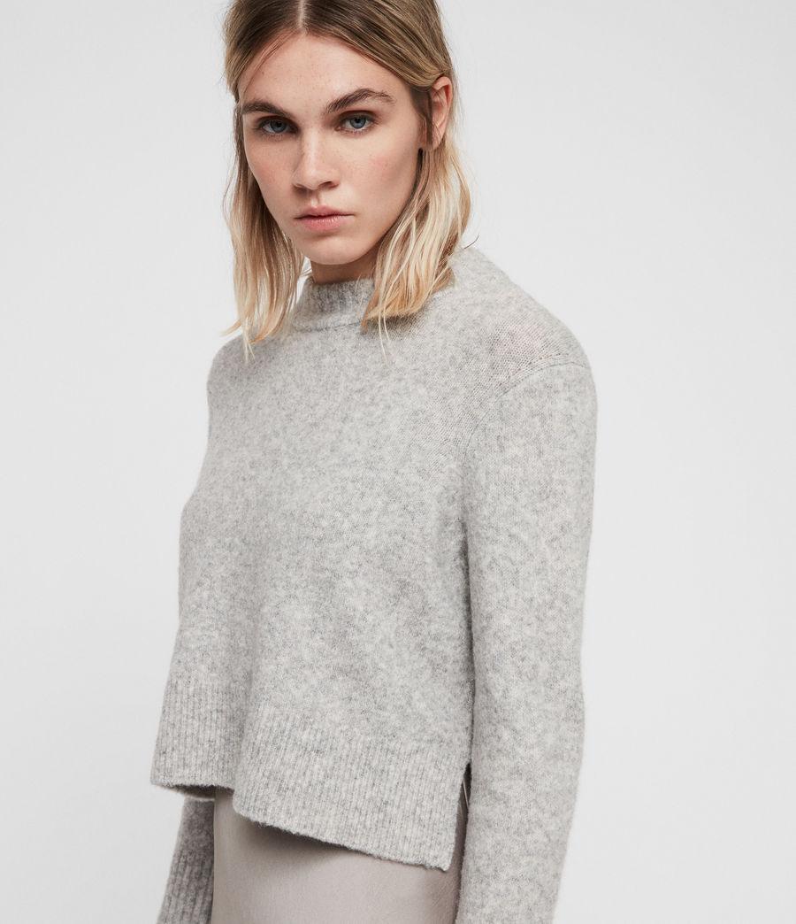 Mujer Vestido con Suéter Tierny (tin_greymarl_pearl) - Image 2