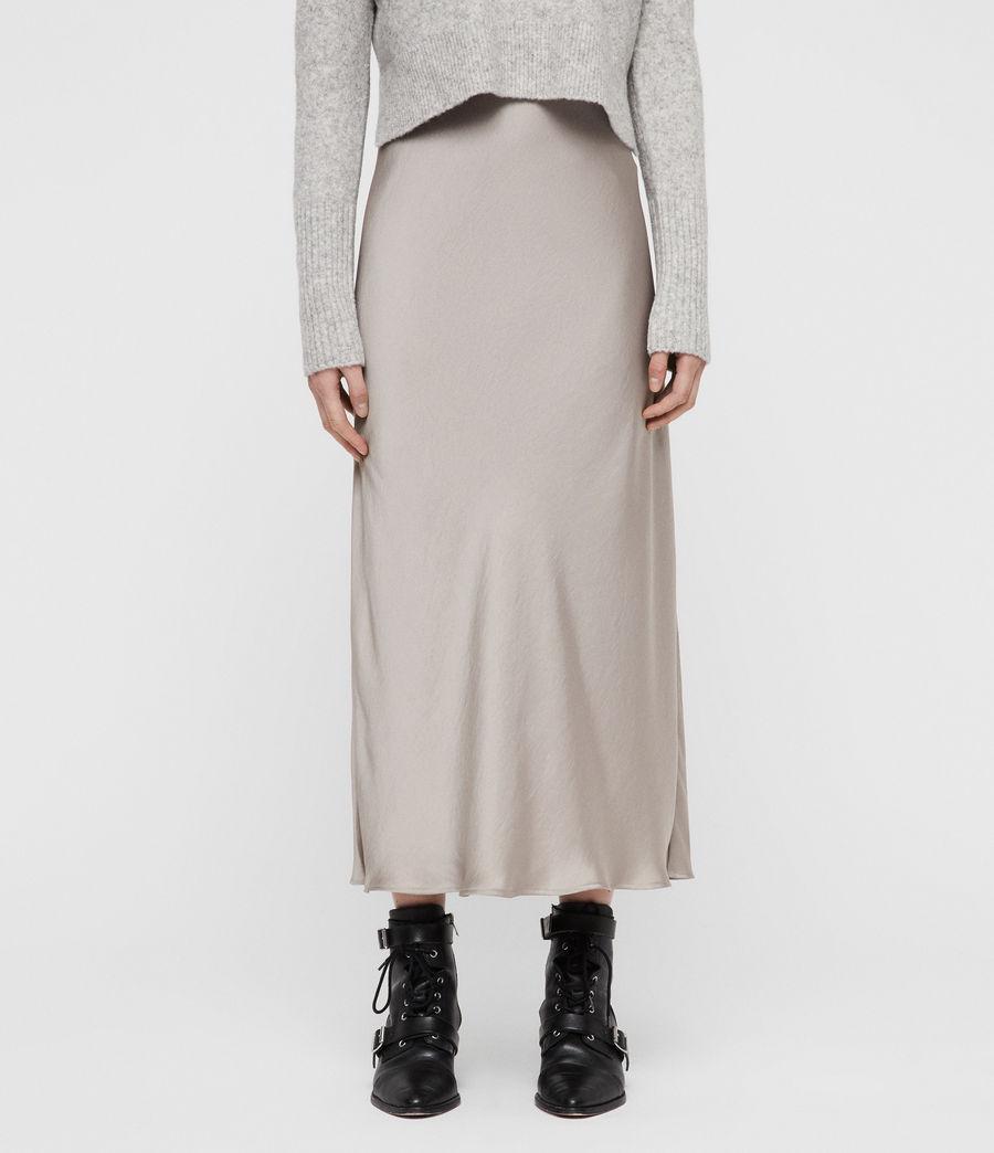 Mujer Vestido con Suéter Tierny (tin_greymarl_pearl) - Image 4