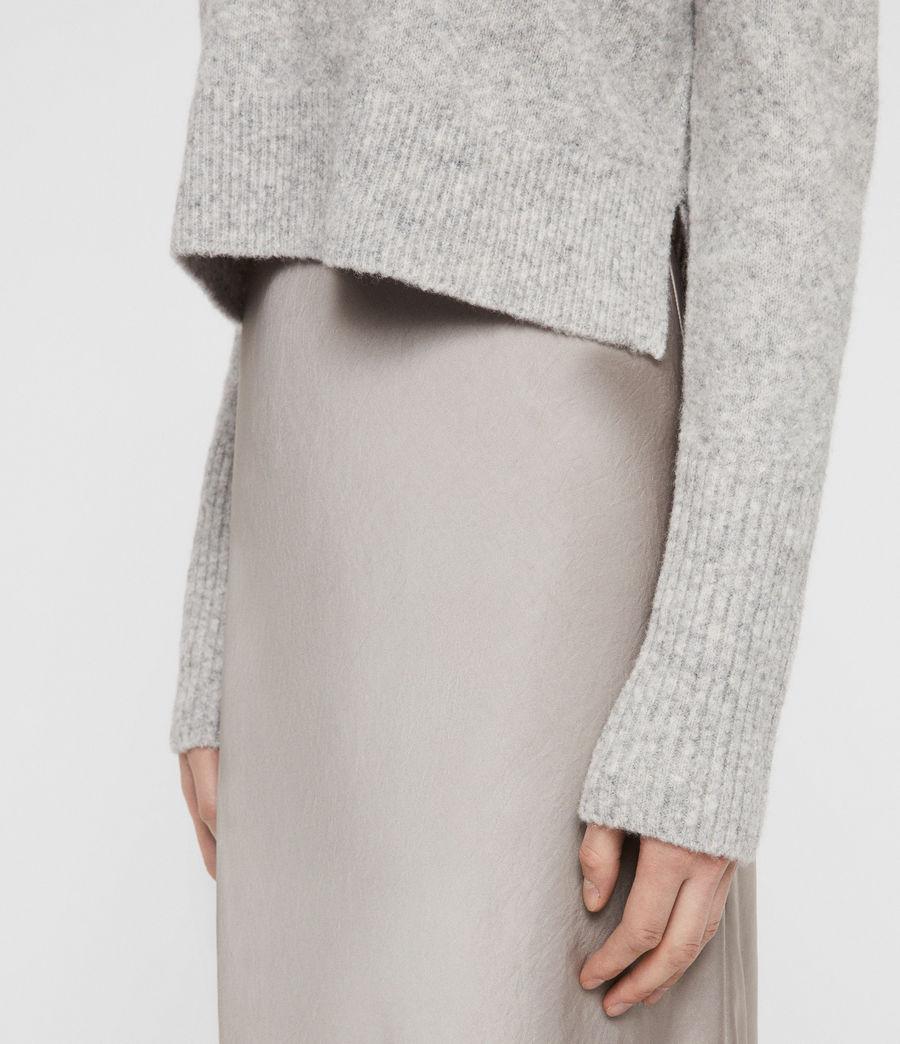 Mujer Vestido con Suéter Tierny (tin_greymarl_pearl) - Image 5