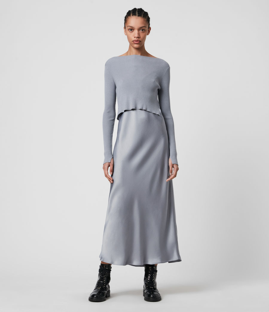 Womens Hera 2-in-1 Dress (steel_grey) - Image 1