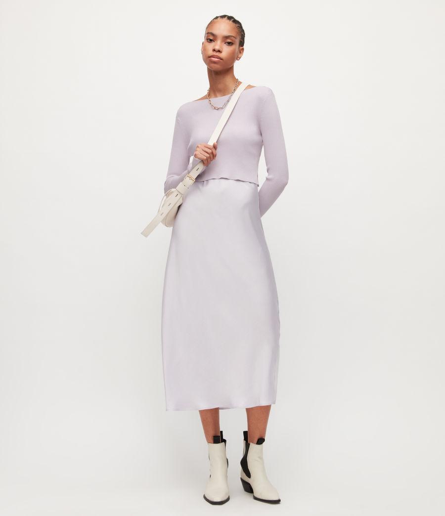 Women's Hera 2-In-1 Dress (misty_lilac) - Image 1