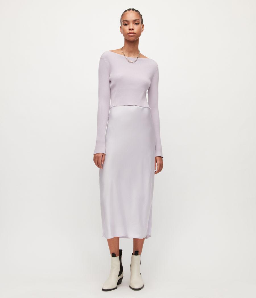 Women's Hera 2-In-1 Dress (misty_lilac) - Image 3