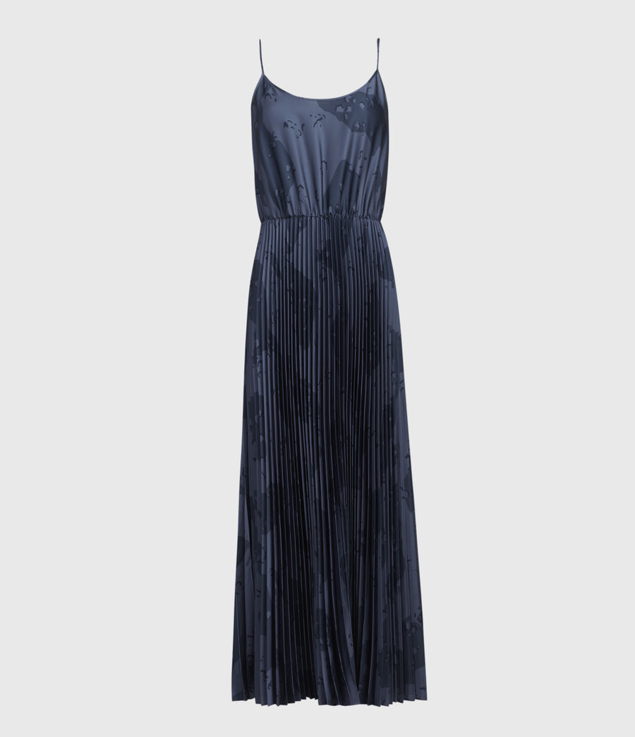 Womens Lera Acoustic 2-In-1 Dress (mid_blue) - Image 3