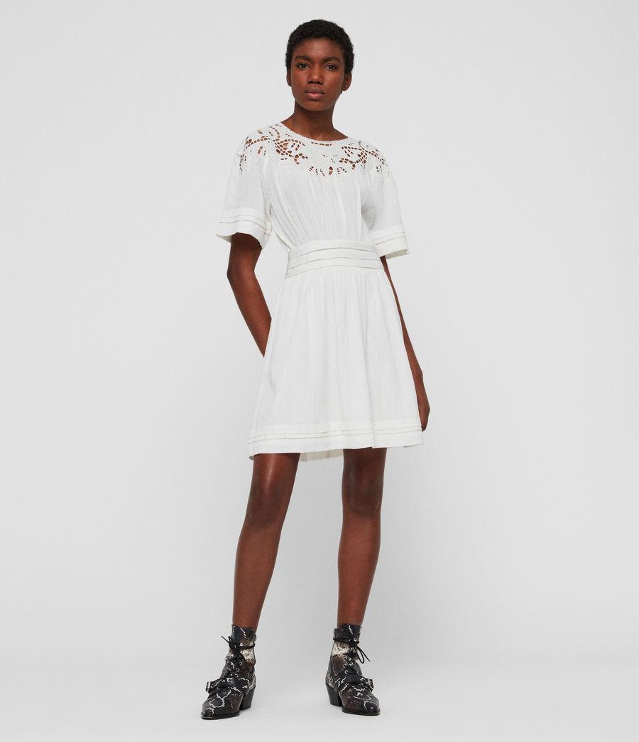 Womens Lise Dress (chalk_white) - Image 1