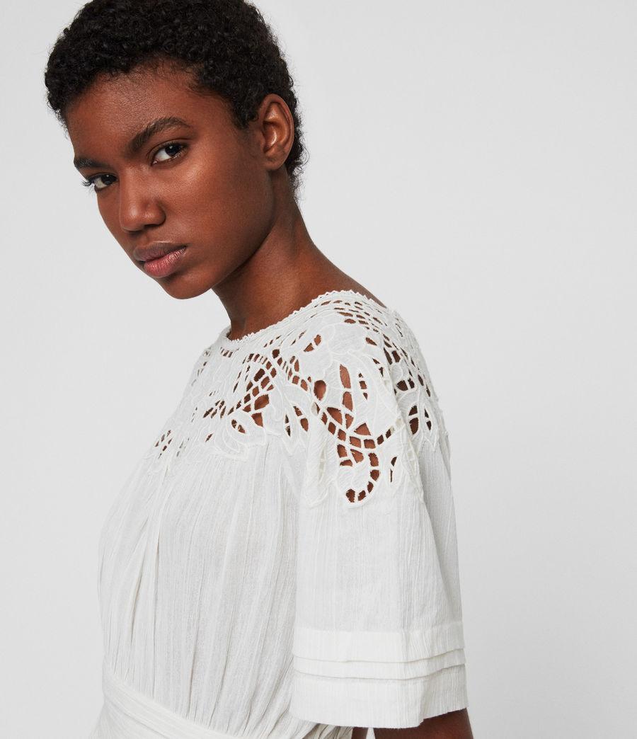 Femmes Robe Lise (chalk_white) - Image 2