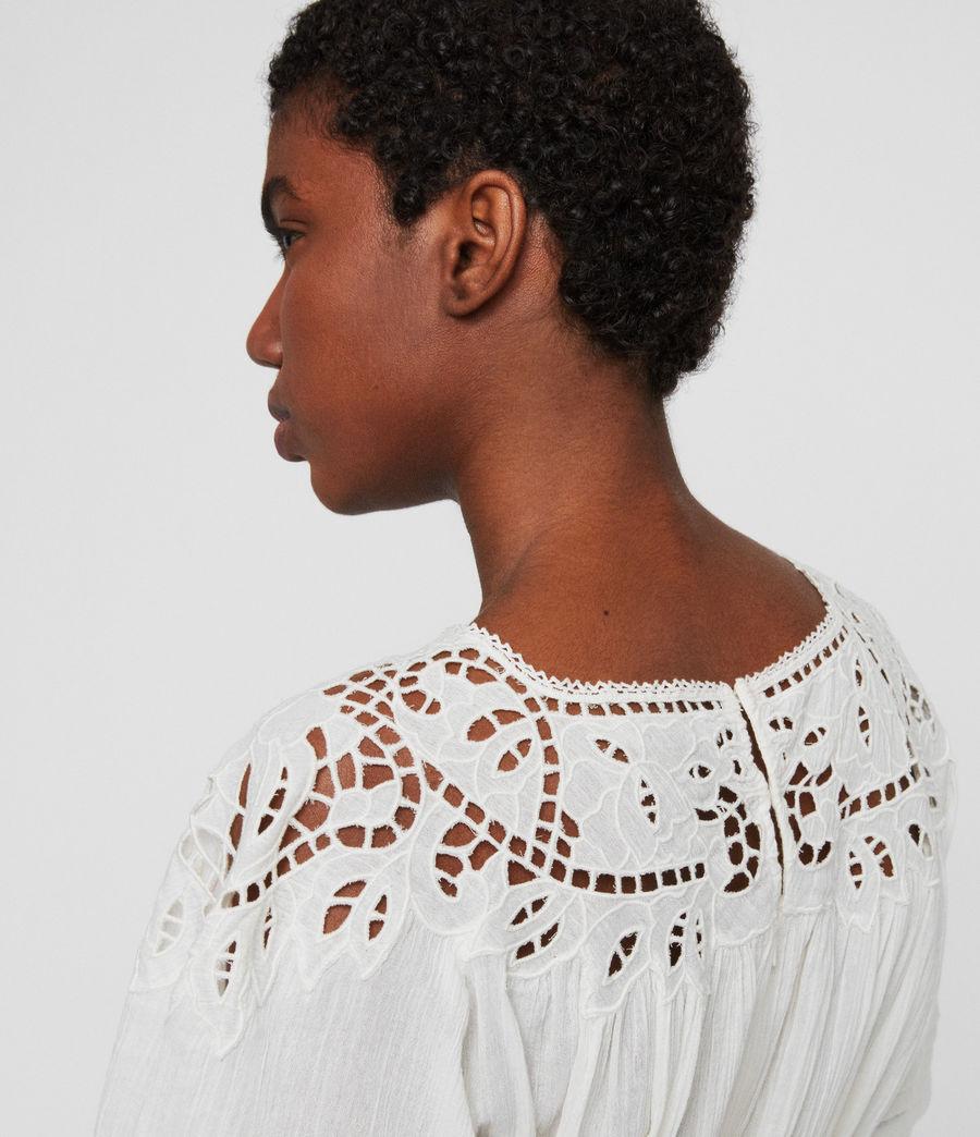 Femmes Robe Lise (chalk_white) - Image 3