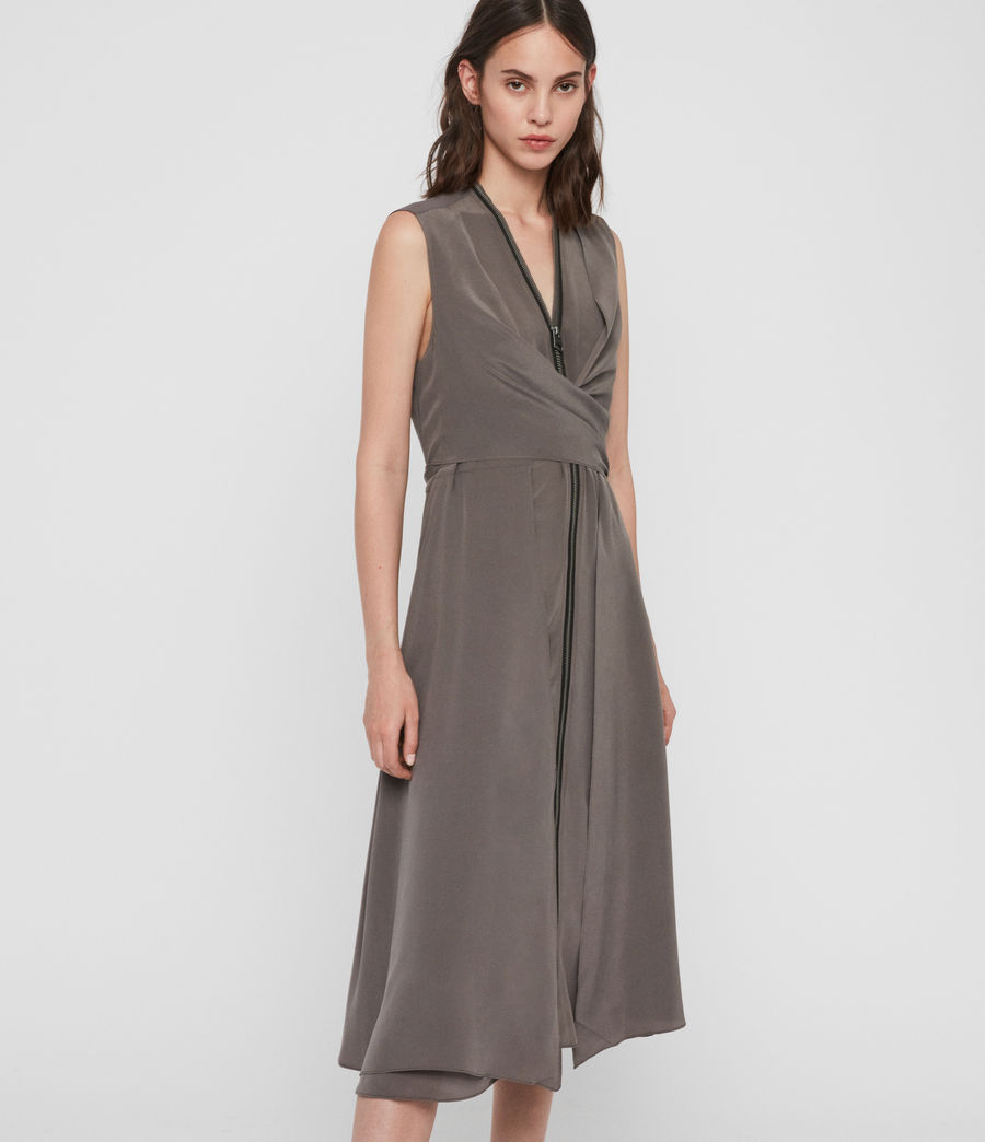 Womens Jayda Midi Dress (birch) - Image 1