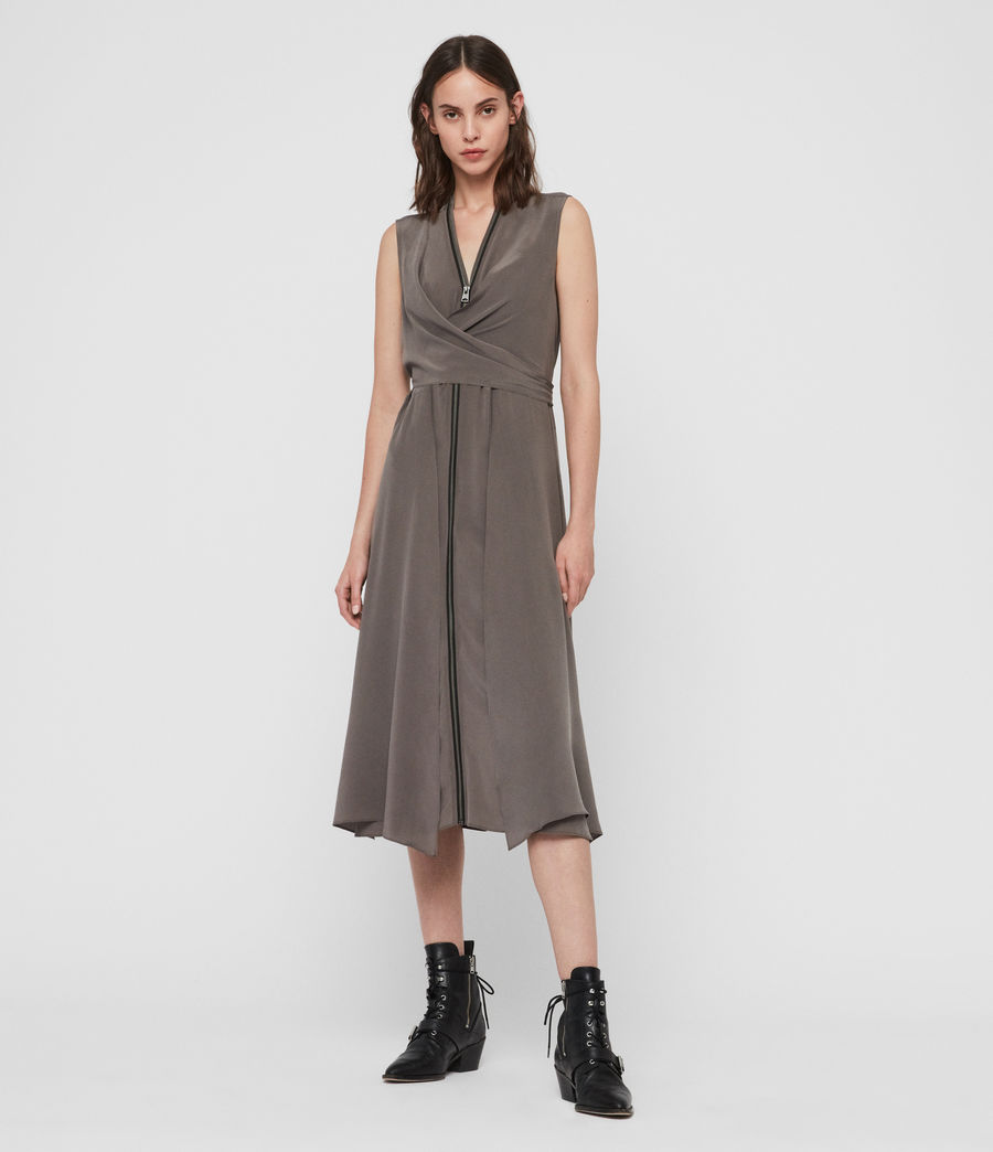 Womens Jayda Midi Dress (birch) - Image 2
