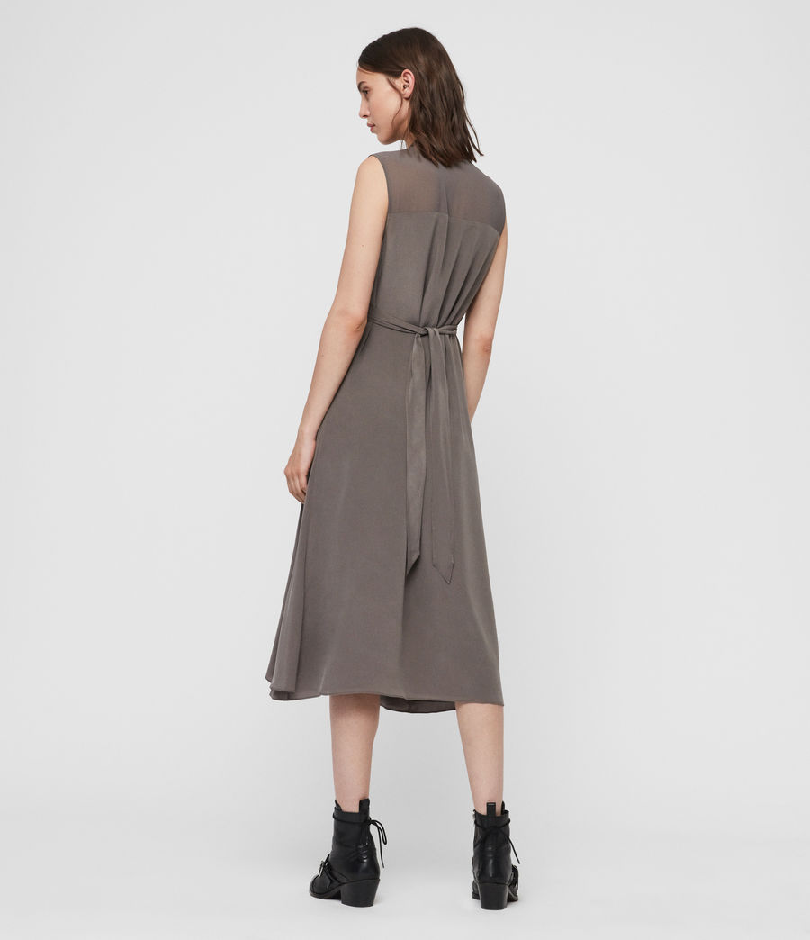 Womens Jayda Midi Dress (birch) - Image 4