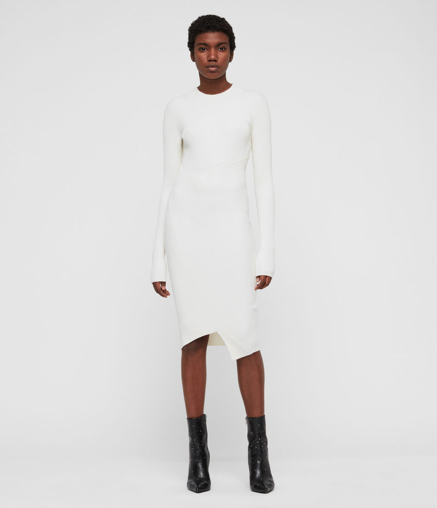Damen Amara Kleid (chalk_white) - Image 1