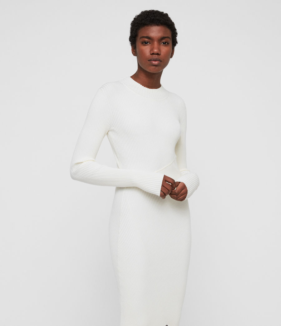 Womens Amara Dress (chalk_white) - Image 2