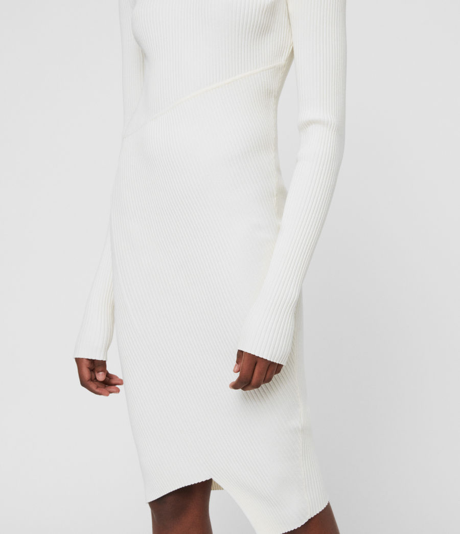 Womens Amara Dress (chalk_white) - Image 3