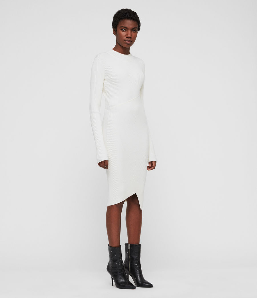Damen Amara Kleid (chalk_white) - Image 4