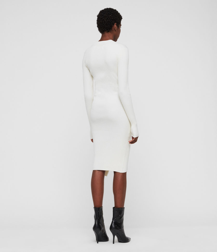 Damen Amara Kleid (chalk_white) - Image 5