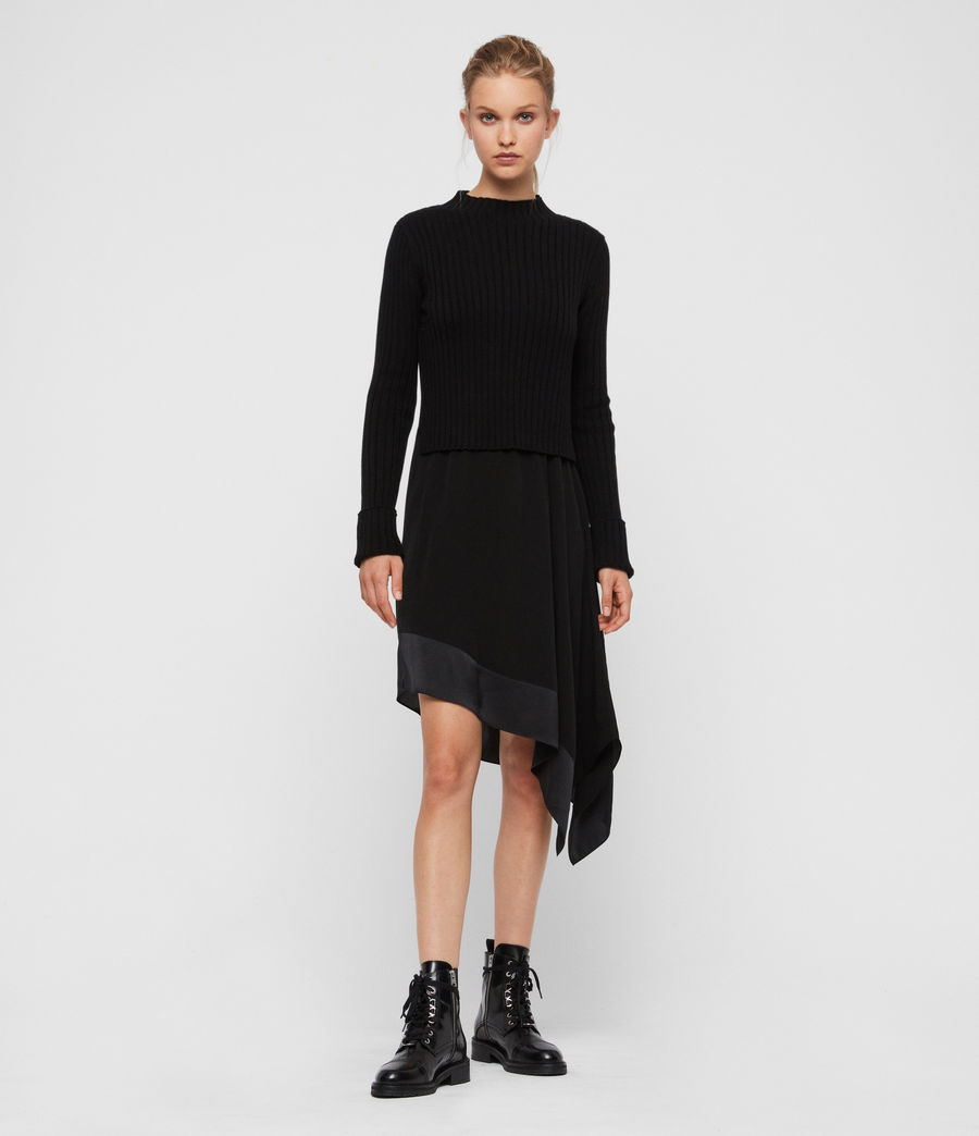 Women's Elina Dress (black) - Image 1