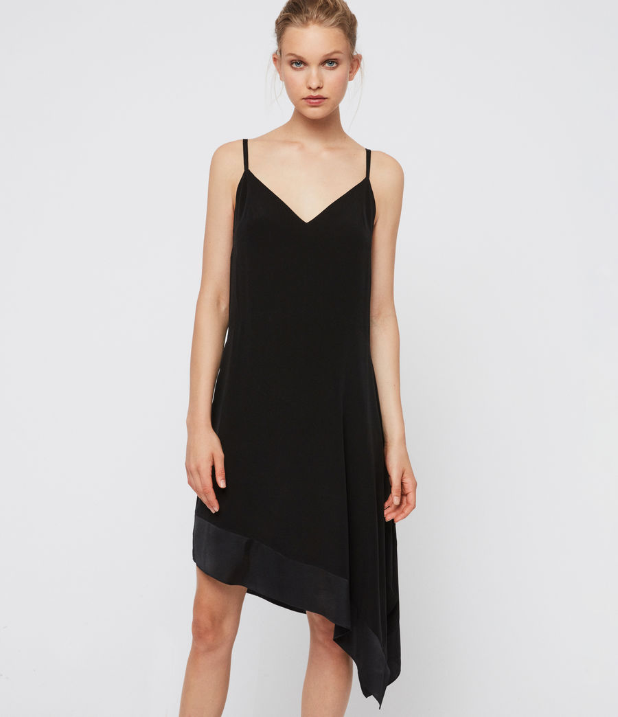 Women's Elina Dress (black) - Image 2